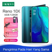 Oppo Reno 10x zoom ram 6gb 128gb Garansi resmi Mendukung fungsi NFC