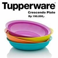 Cressendo Plate Tupperware (4), piring cantik dengan warna menarik