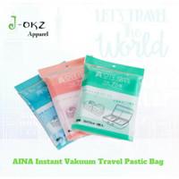 Instant Vacuum Travel Pastic Bag / vacum bag Plastic size 35x50cm