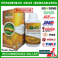 Obat Perut Kembung dan Keras Herbal Alami & Aman - QnC Jelly Gamat ORI