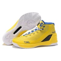P4UL Under Armour Curry 3 Yellow sport