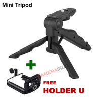 Mini Tripod - DSLR - Smartphone - Go Pro - Xiaomi Yi - Action Camera