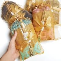 SAJADAH DEWASA BESAR TURKI TASBIH KAYU Kartu Ucapan Packing Tile Serut