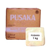 Mentega Putih Pusaka/Margarin Putih Pusaka 1 Kg