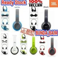HEADSET BLUETOOTH JBL P47 BANDO / HEADPHONE WIRELESS