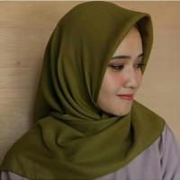 Hijab Jilbab Kerudung cornskin premium segi empat Terbaru Murah