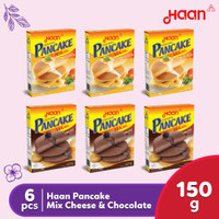 Haan Pancake Mix Cheese & Chocolate 6 Pcs