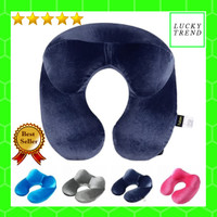 Bantal Leher Tiup Travel Pillow Angin Inflatable High Quality Modern