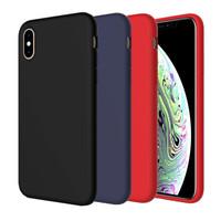 IPhone XS Max Slim Matte TPU Soft Case Anti Slip 1606