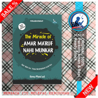 Buku The Miracle of Amar Ma'ruf Nahi Munkar Ready Stok Original Baru