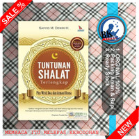 Buku Tuntunan Shalat Terlengkap buku fiqh Ready Stok Original Baru