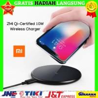 Xiaomi ZMI Qi-Certified 10W Wireless Charger - Hitam Asli, Original