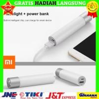 Xiaomi ZMI Flashlight Portable Charger Combo 3350mAh Powerbank Asli,