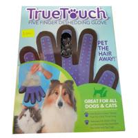 True Touch - Sarung Tangan Pemijat Perapi Bulu Hewan