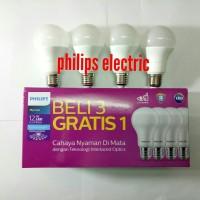 LAMPU PHILIPS LED 13 WATT 13WATT 13W 13 W (1 paket 4 pcs)
