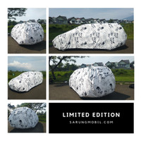 Sarung Mobil Motif Limited Edition (Large Car)