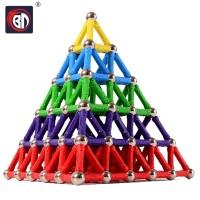 PROMO BD Magnet Bars Metal Balls Kids Magnetic Building Blocks Toys