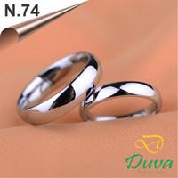 Cincin Kawin Tunangan Perak Couple N.74