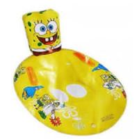 Spongebob Baby Float Boat Pegangan. Ban Pelampung Renang Batita Duduk