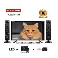 POLYTRON 32TS1503 SMART TV BOX RAM 2GB ROM 16GB SATELITE DIGITAL TV