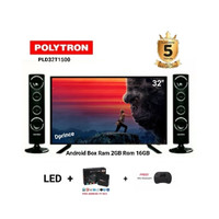 Polytron PLD32T1500 SMART TV BOX RAM 2GB ROM 16GB [32INCH]