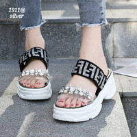 New Arrival... Sandals FENDI Fashion Korea Shoes FLS-1911@