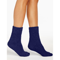 Kaos Kaki Cozy Slipper Dark Blue