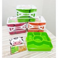 Kindaichi Susun 3 / Microwave Lunch Box Catering Kotak Makan Sekat 5