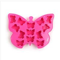 LOCK&LOCK Silicone Ice Mold Butterfly Cetakan Es Agar Jelly SLX017P