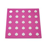 LOCK&LOCK Silicone Trivet Seashell Tatakan Anti Panas Pink SLX001P