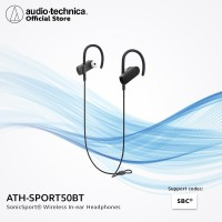 Audio-technica ATH-SPORT50BT Wireless In-ear Headphones - Black