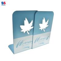 Book End Stretch Leaf | Sandaran Penyangga Pembatas Buku Daun