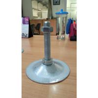 Adjuster Foot M8-300 mm (Galvanish)
