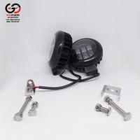 Lampu Tembak Bulat 30 Watt Fog Lamp Led Work Fog Light Mobil Motor