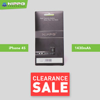 Hippo Baterai for iPhone 4s 1430 mAh Original Cell