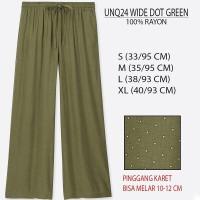 [CB] Celana Kulot Banded - UNIQLO Wide Pants [2]