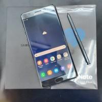 Samsung Galaxy Note FE 4/64GB bekas garansi resmi SEIN - Black -Mulus