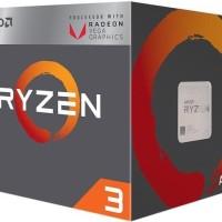 AMD Ryzen 3 2200G Quad-Core 3.5 GHz (3.7 GHz) Processor Socket AM4