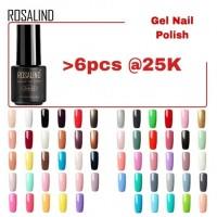 ROSALIND 7ML Soak off UV Gel Nail Polish/Kutek Gel/Cat Kuku Gel/kutek