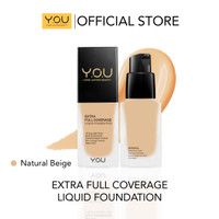 Y.O.U Extra Full Coverage Intens Liquid Foundation 04 Natural Beige