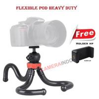 Tripod Flexible GORILLA POD HEAVYDUTY DSLR mirorles kamera smartphone