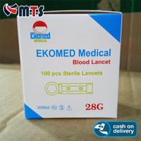Blood Lancet Isi 100 - 28 G