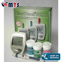 Alat Cek Easy Touch 3 in 1 GCHB Gula, Kolesterol, HB