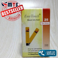 MURAHHHH!!! Easy Touch Asam Urat/ Uric Acid Isi 25 Strip
