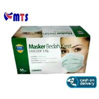 Masker Bedah Karet Earloop / Masker Wajah Onemed / Masker Motor Debu