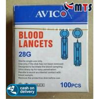 Avico Jarum Lancet Easy Touch Nesco GlucoDr Easytouch Gluco Dr 28G