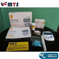GlucoDr AGM-2100 Alat Tes Gula Darah dan 25 Strips BioSensor Gluco Dr