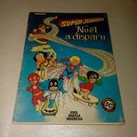 Buku Komik Besar LANGKA Les Super Juniors - Noel a disparu