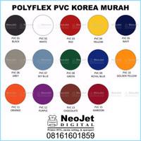 Polyflex PVC Poliflex Polyplek Korea Murah Sablon Digital