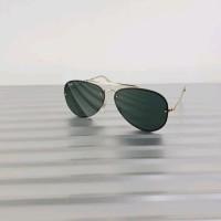 b4d6207cc07 kacamata rayban authentic blaze aviator 3584-9050/71 gold green